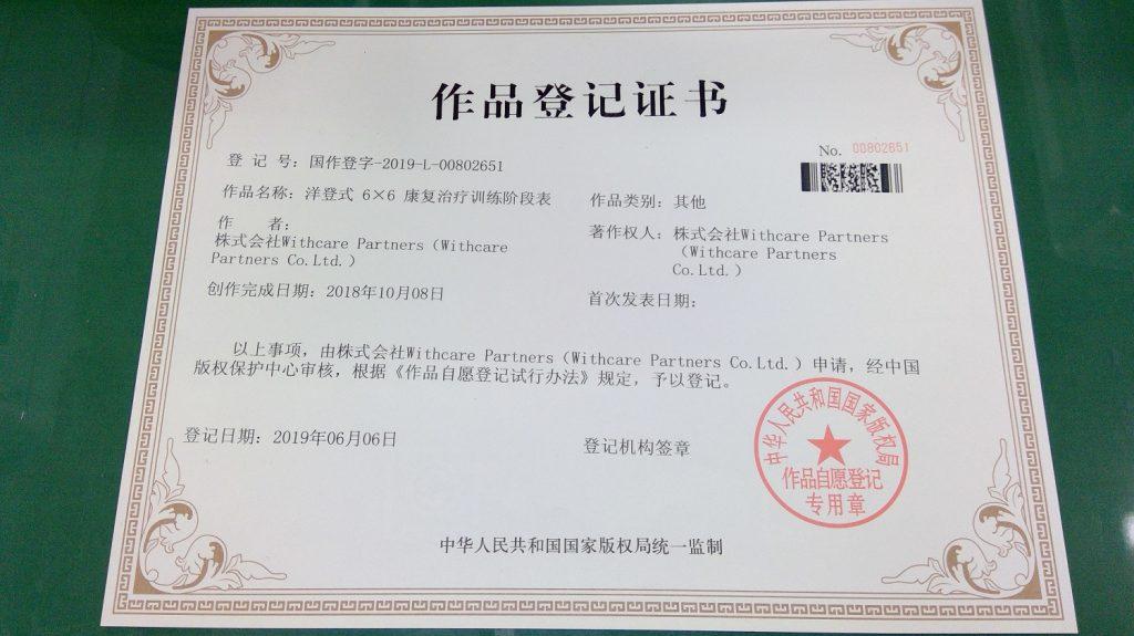 6×6リハビリテーション特許